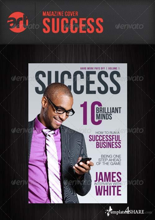 GraphicRiver Mag Cover: Success