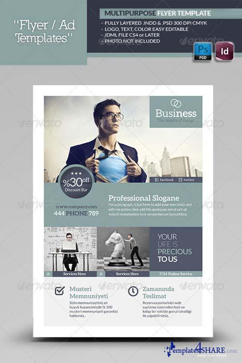 GraphicRiver Multipurpose Flyer Template