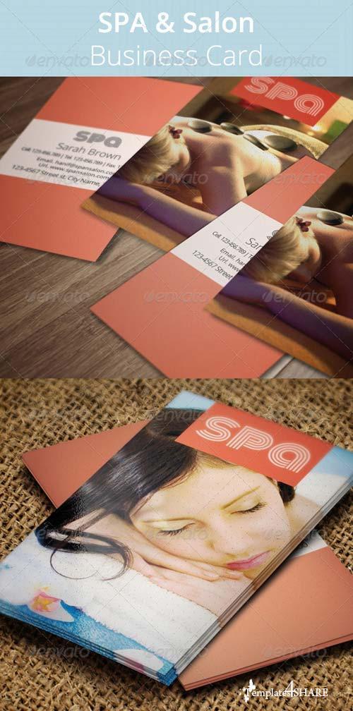 GraphicRiver SPA & Salon Business Card