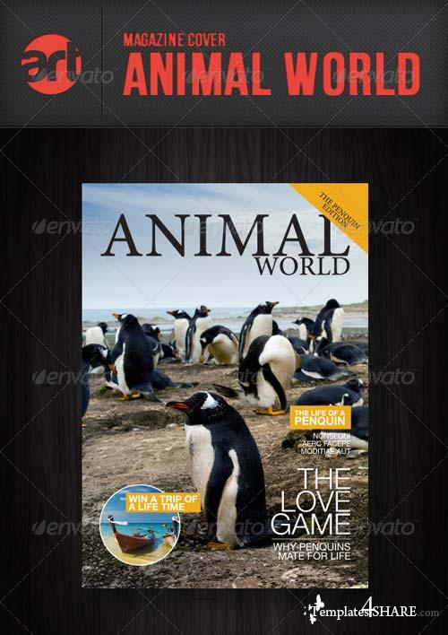 GraphicRiver Mag Cover: Animal World