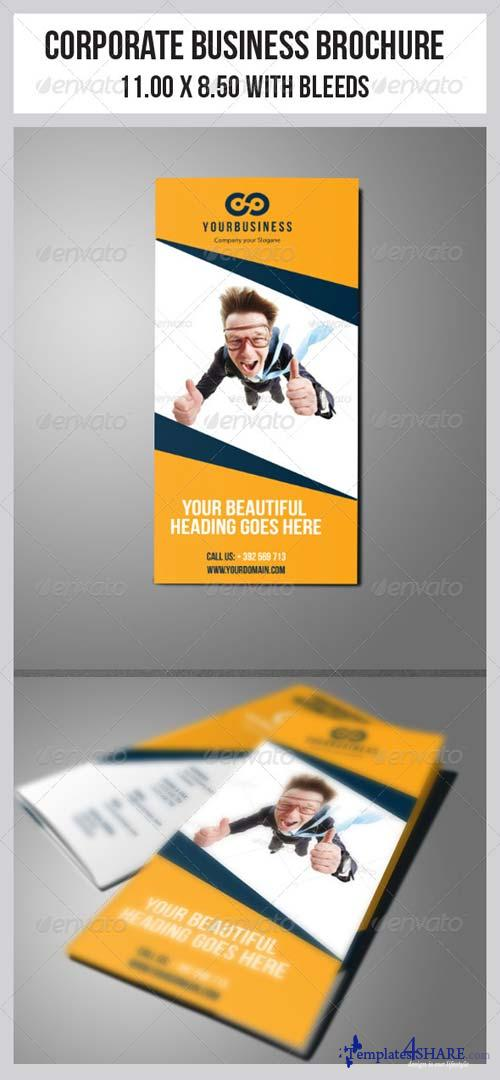 GraphicRiver Multipurpose Business Tri-Fold Template