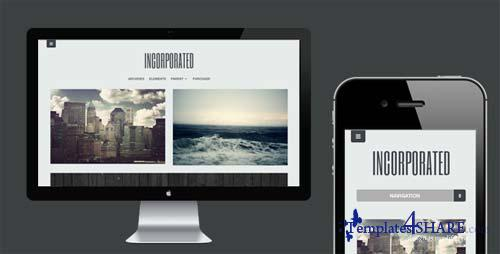 ThemeForest - Incorporated - WordPress Theme