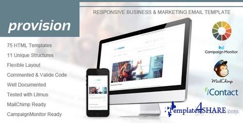 ThemeForest - ProVision - Responsive Email Template