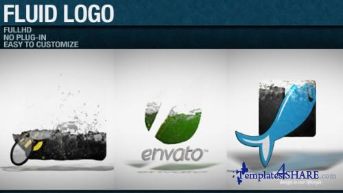 Fluid Logo - After Effects Project (Videohive)