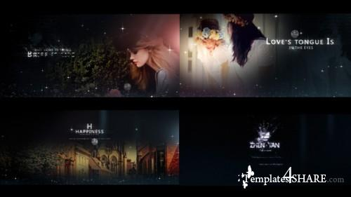 Fashion Particles - Fresh Postcard Opener - After Effects Project (Videohive)