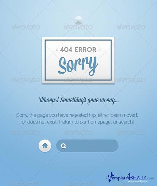 GraphicRiver Nice 404's