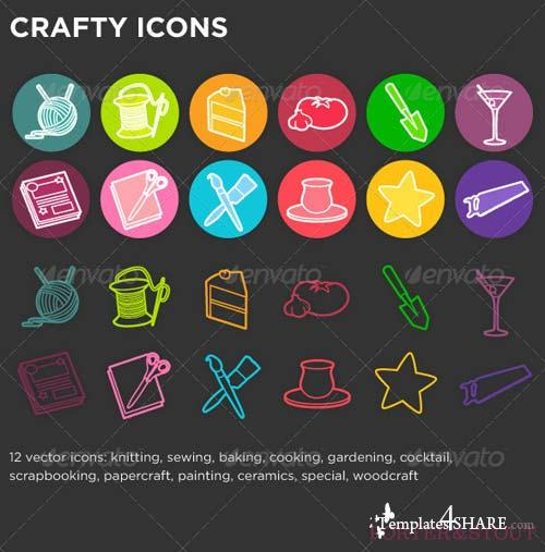GraphicRiver Crafty Icons
