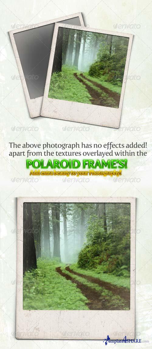 GraphicRiver Gritty and Modern Polaroid Photo Frames