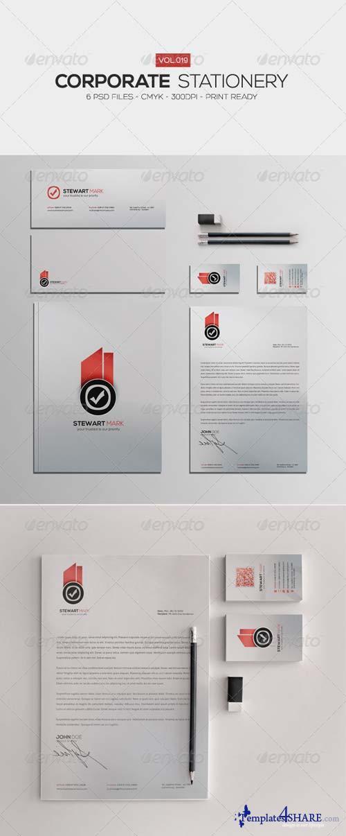 GraphicRiver Corporate Stationery Vol.19