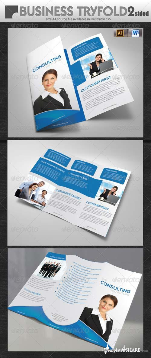 GraphicRiver Services Tri-Fold Design