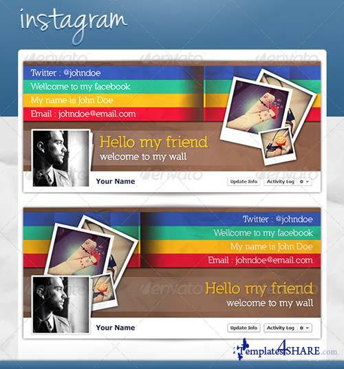 GraphicRiver FB Cover - Instagram