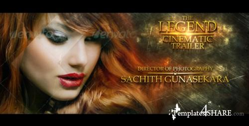 The Legend Cinematic Trailer - After Effects Project (Videohive)