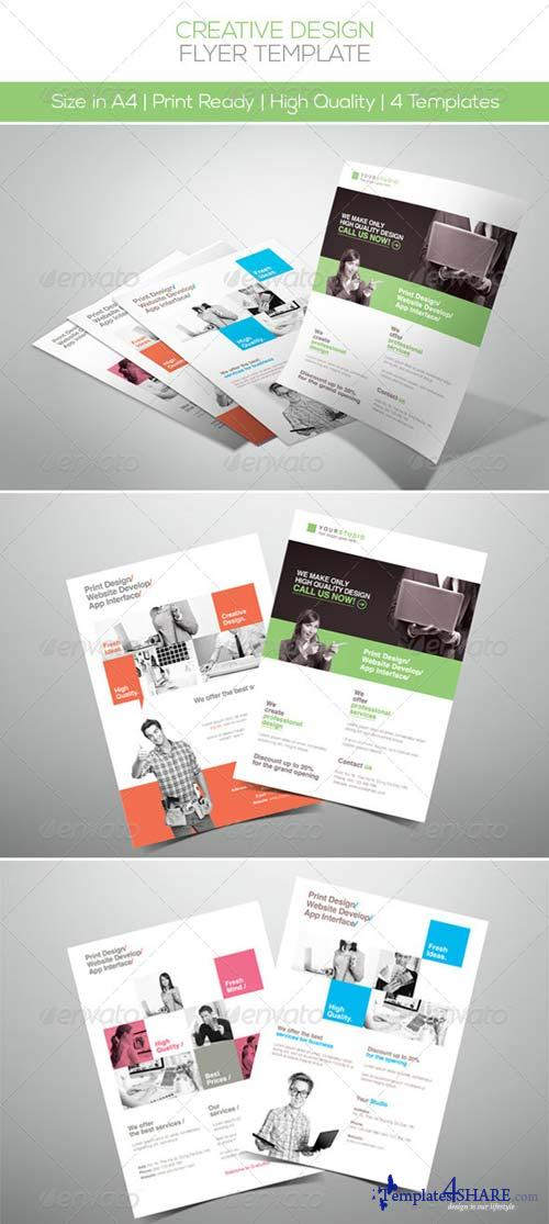 GraphicRiver Creative Design Company Flyer