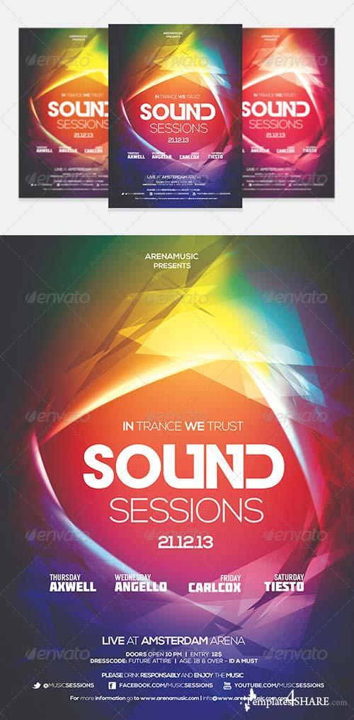GraphicRiver Color Flyer Template