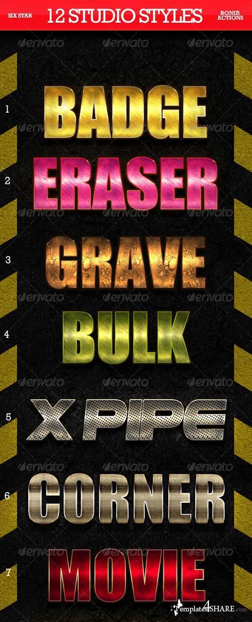 GraphicRiver 12 Studio Quality Styles