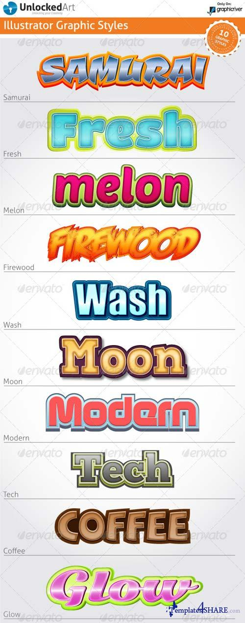 GraphicRiver Custom Graphic Styles 4