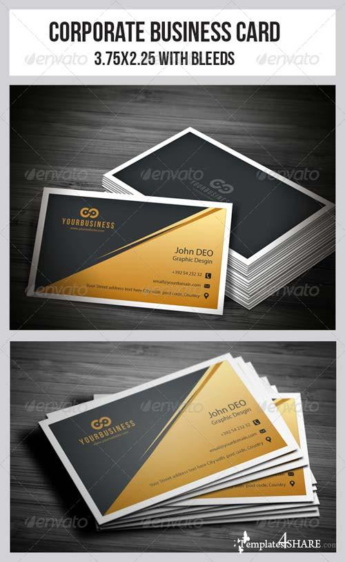 GraphicRiver Corporate Business Cards