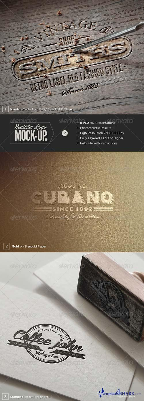 GraphicRiver Logo Mock-Up Set - 2