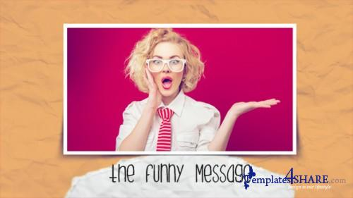 The Funny Message - Apple Motion Template (Videohive)