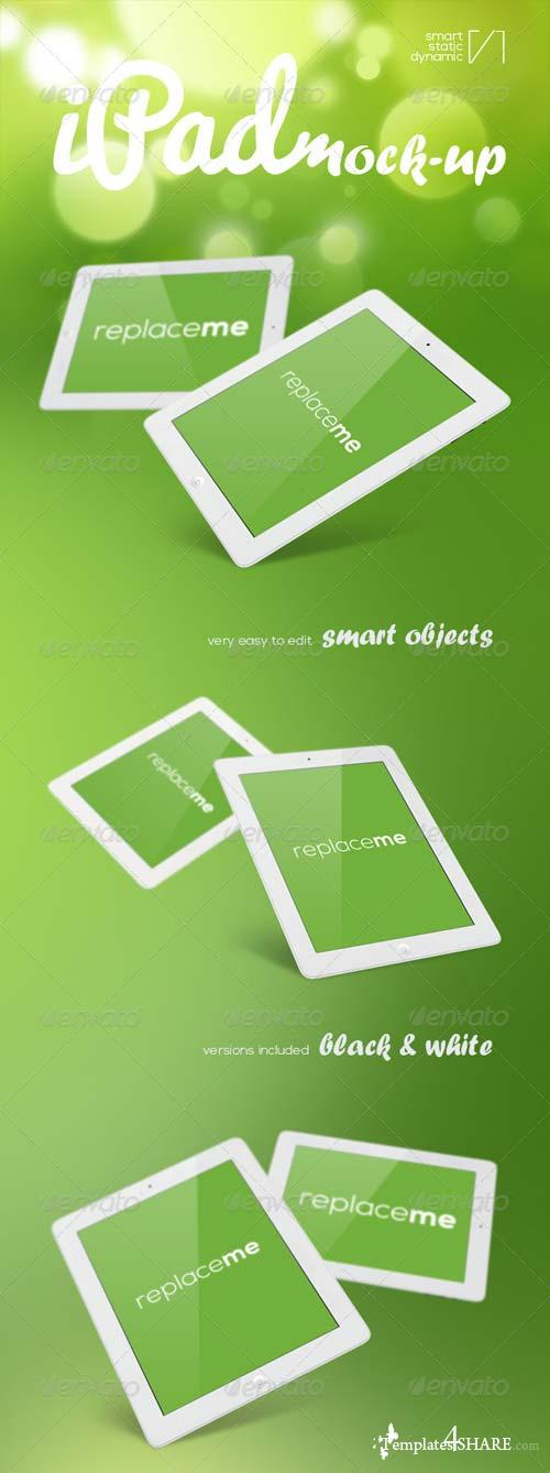 GraphicRiver iPad Mock-Ups With Animation