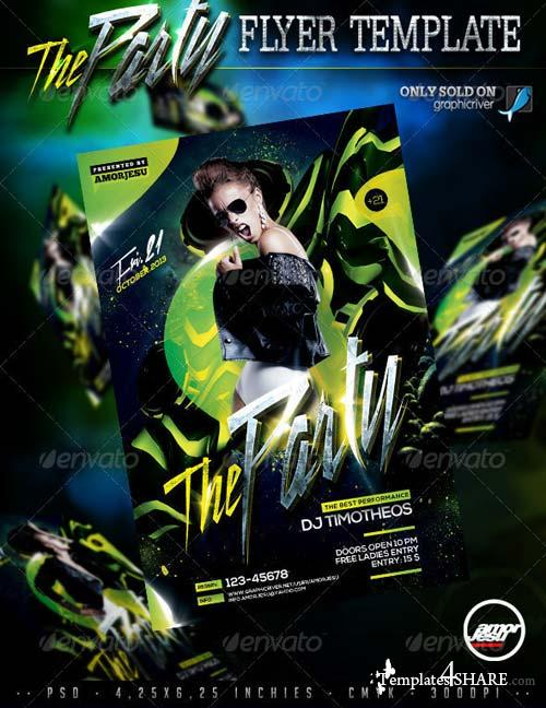 GraphicRiver The Party Flyer Template V2