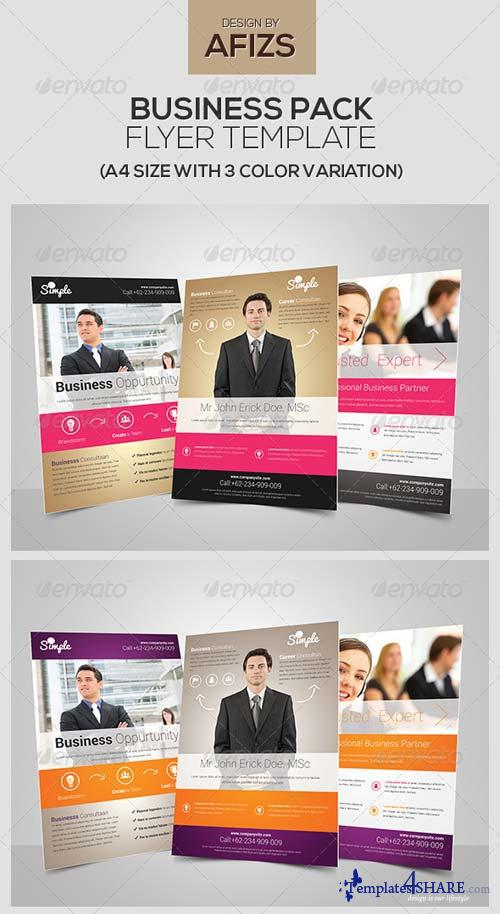 GraphicRiver Business Flyer Pack