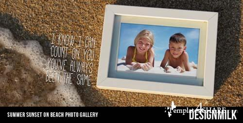 Summer Sunset on Beach Photo Gallery - After Effects Project (Videohive)