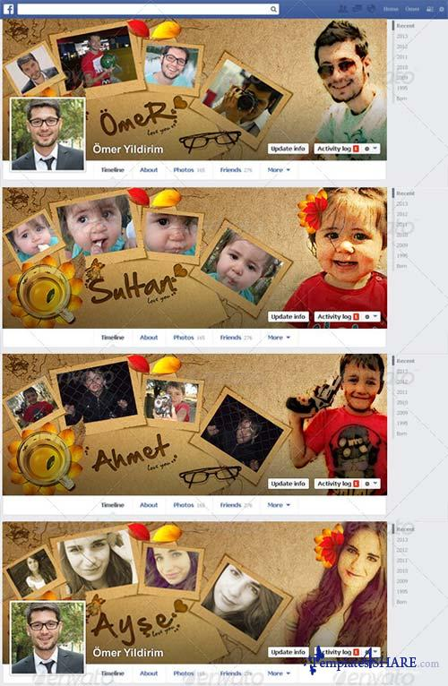 GraphicRiver Loves Facebook Timeline Covers 01