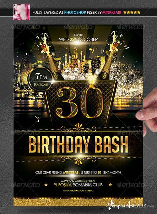 GraphicRiver Birthday Bash Poster/Flyer
