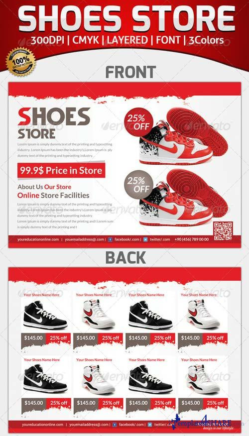 GraphicRiver Product Shoes Flyer Template