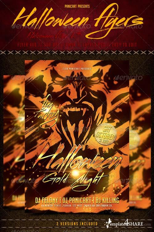 GraphicRiver Halloween Flyer Templete V3