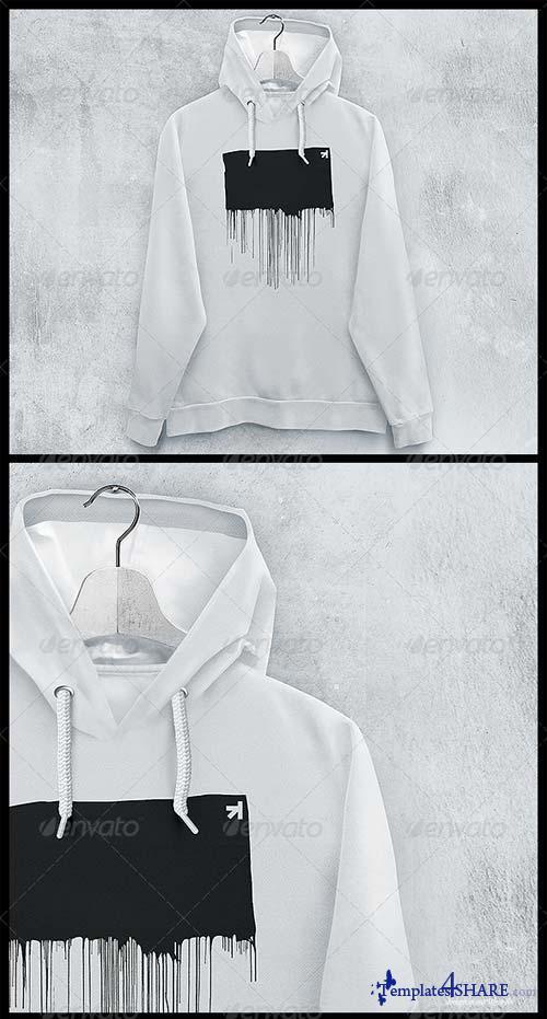 GraphicRiver Hoodie Sweatshirt Mockup
