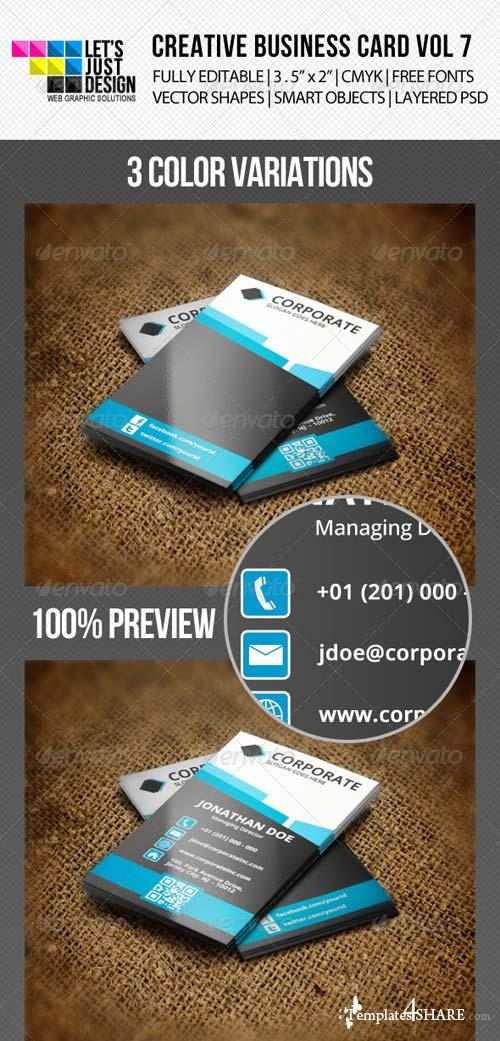 GraphicRiver Creative Business Card Vol 7