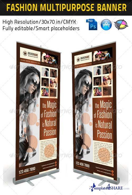 GraphicRiver Fashion Multipurpose Banner Template 10
