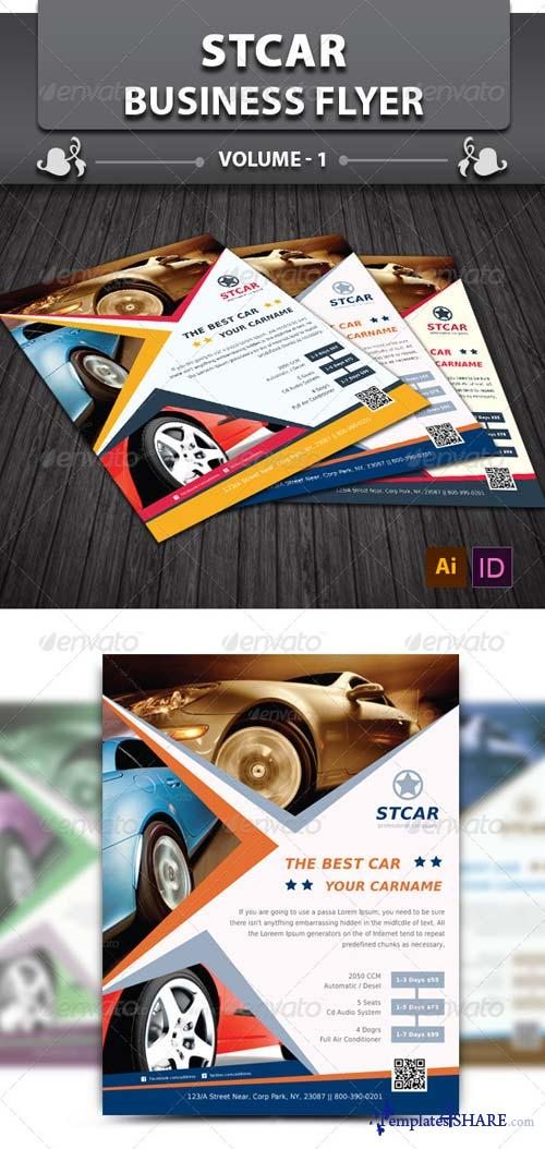 GraphicRiver Stcar Business Flyer v1