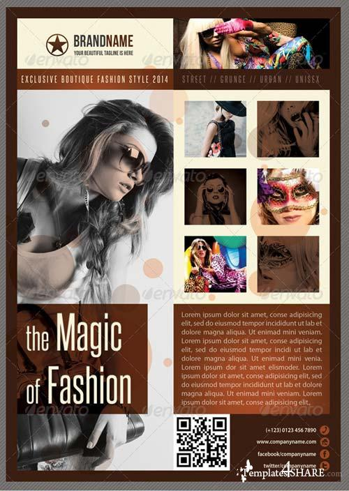 GraphicRiver Fashion Product Flyer 07