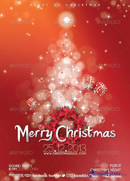 GraphicRiver Christmas Soul Flyer