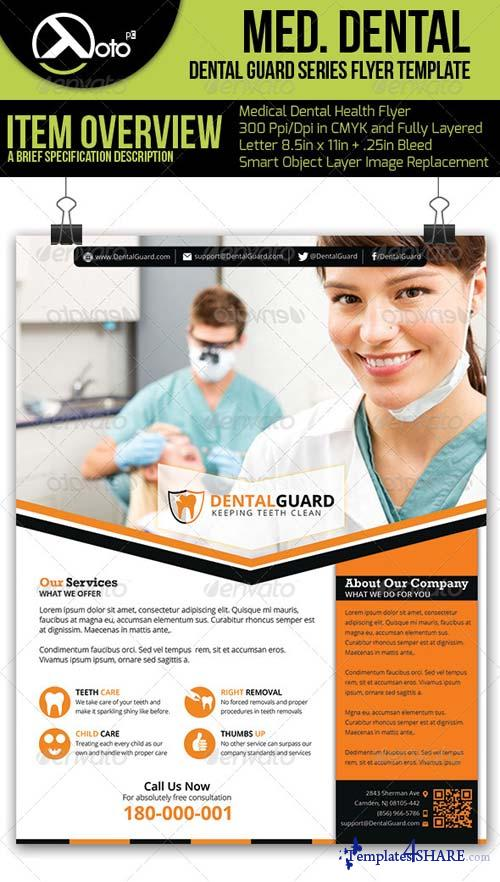 GraphicRiver Medical Dental Flyer V5