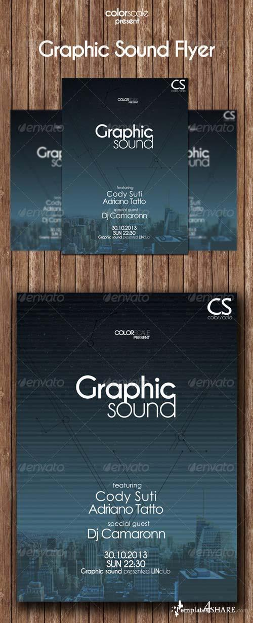 GraphicRiver Graphic Sound Flyer