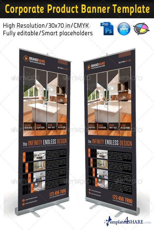 GraphicRiver Corporate Multipurpose Banner Template 25