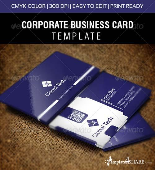 GraphicRiver Global Tech Business Card