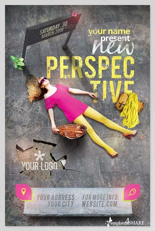 GraphicRiver New Perspective Flyer Template