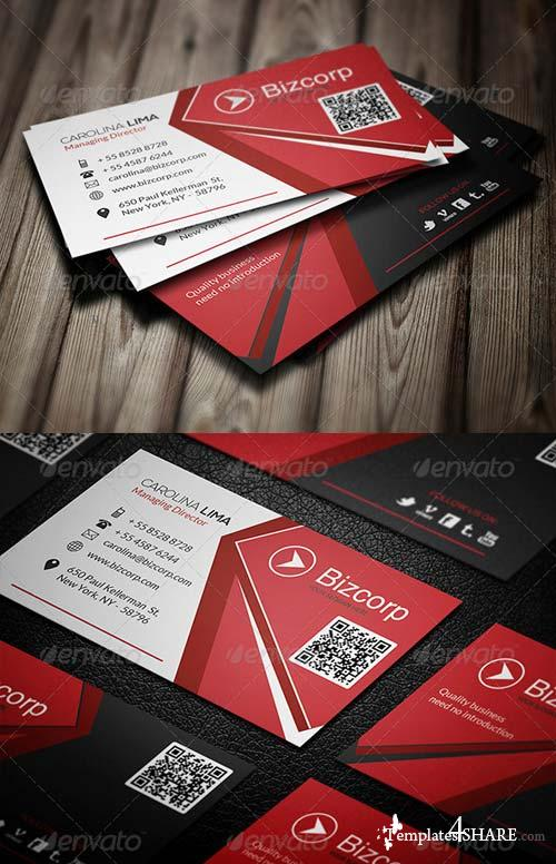 GraphicRiver Corporate Business Card 085