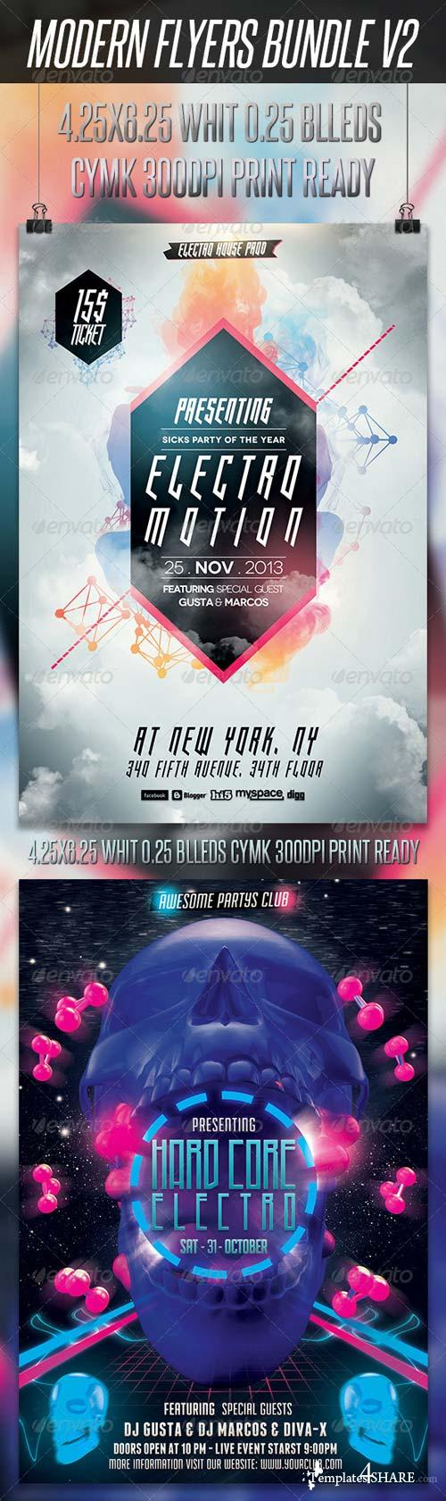 GraphicRiver Modern Flyers Bundle V2