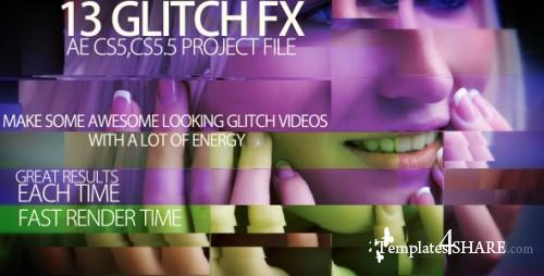 Video glitch FX - After Effects Project (Videohive)