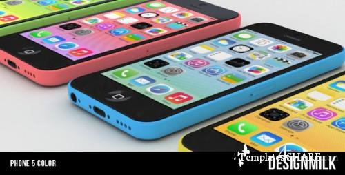 Phone 5 Color - After Effects Project (Videohive)