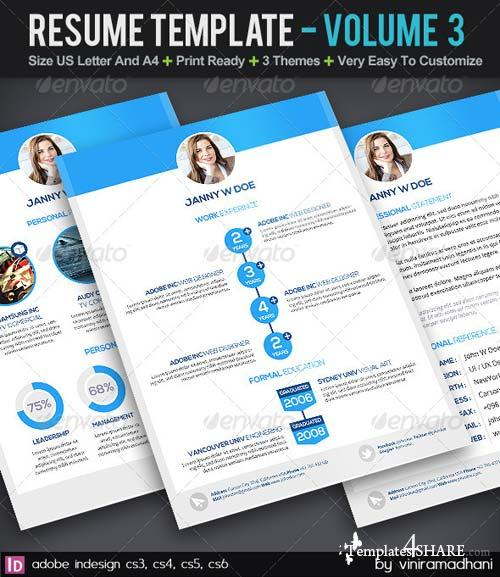 GraphicRiver Resume Template | Volume 3
