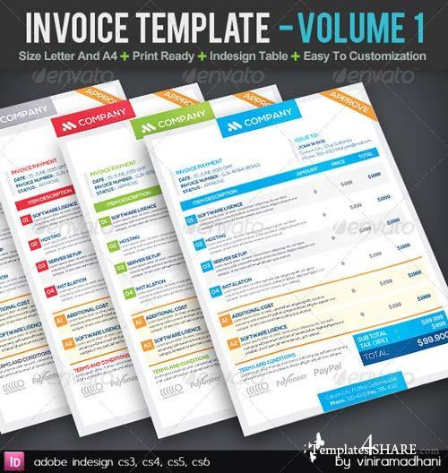 GraphicRiver Invoice Template | Volume 1