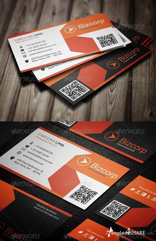 GraphicRiver Corporate Business Card 088