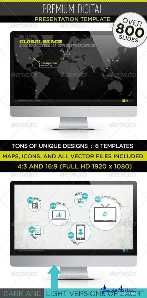GraphicRiver Premium Digital Presentaton Template